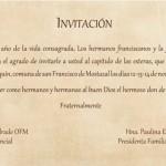 invitación capítulo de las esteras
