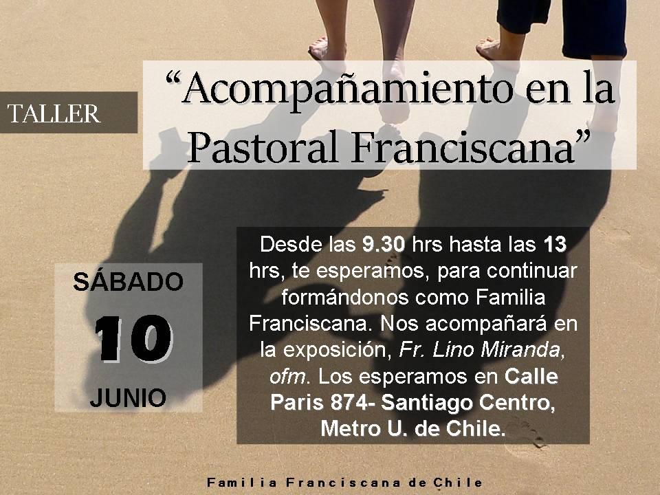 Acompañamiento en la Pastoral Franciscana (1)